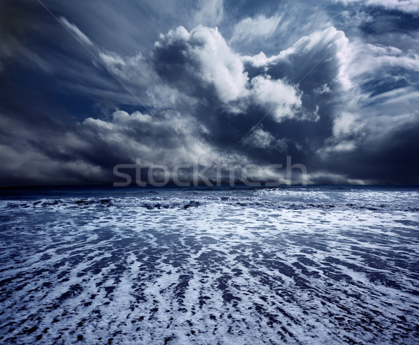 Dark storm Stock photo © carloscastilla