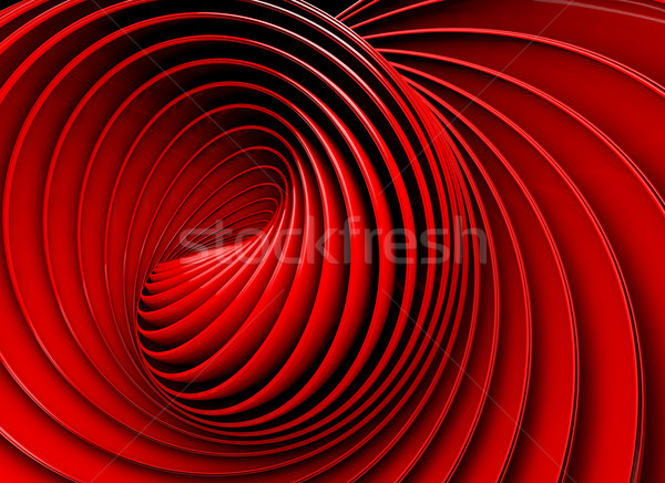 3d abstract swirl or twirl background Stock photo © carloscastilla