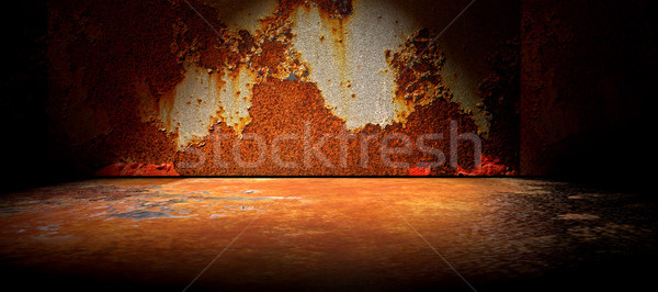 Stockfoto: Beton · vloer · cement · oude · muur · abstract