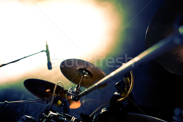 live music.drum  Stock photo © carloscastilla