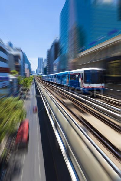 Bangkok Skytrain BTS Stock photo © carloscastilla