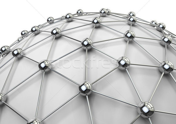 networking and internet concept Stock photo © carloscastilla