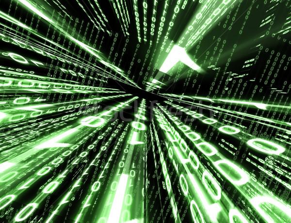 binary code Stock photo © carloscastilla