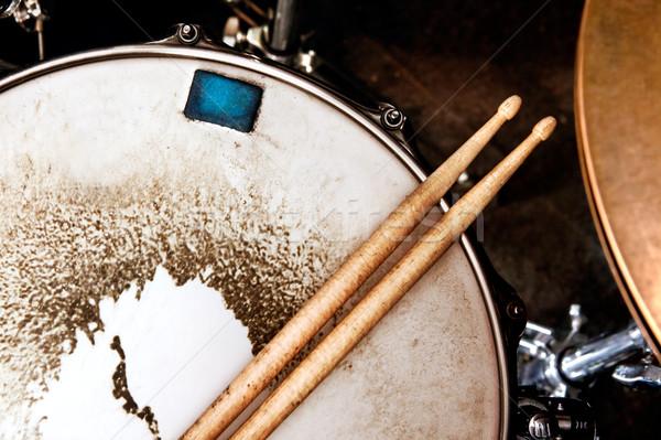 Music and instrument background Stock photo © carloscastilla