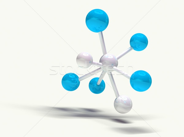 3d  molecular structure Stock photo © carloscastilla