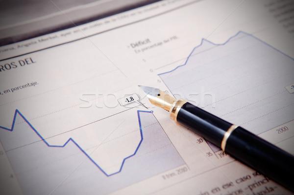 financial background Stock photo © carloscastilla