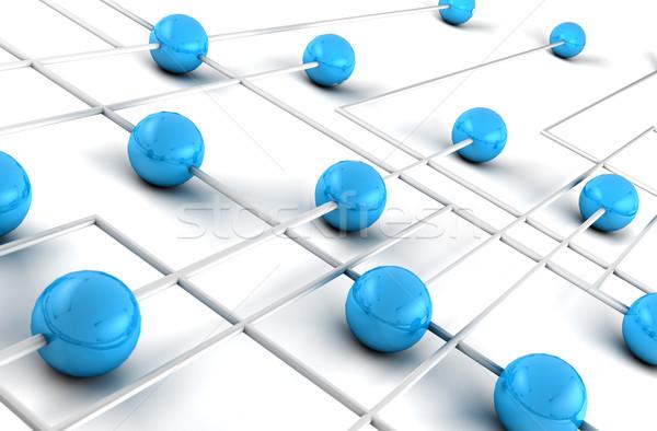 интернет сетей служба Мир технологий земле Сток-фото © carloscastilla
