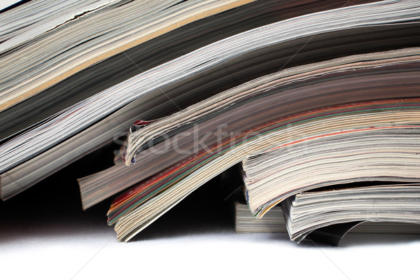 magazines and newspapers Stock photo © carloscastilla