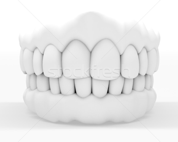 3d denture Stock photo © carloscastilla