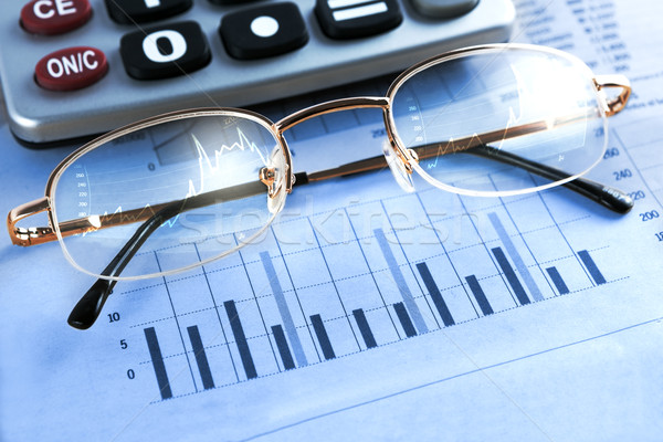 徳用 グラフィックス 眼鏡 オフィス 紙 ストックフォト © carloscastilla