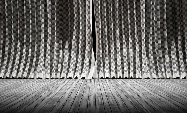 Abstract background. Fabric texture Curtains. Stock photo © carloscastilla
