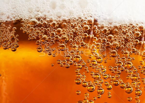 пива подробность аннотация напиток пузырьки свет Сток-фото © carloscastilla