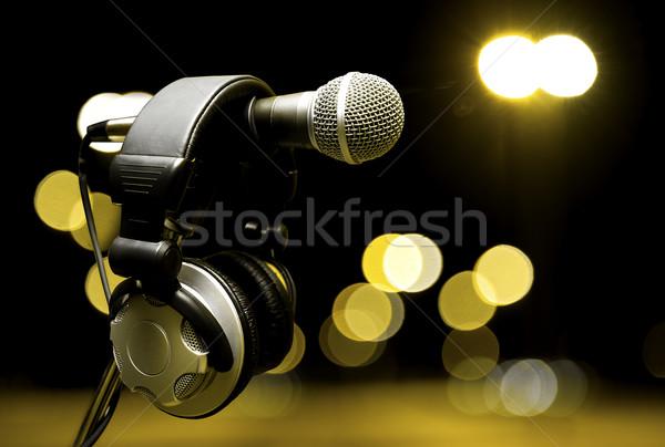 music background Stock photo © carloscastilla