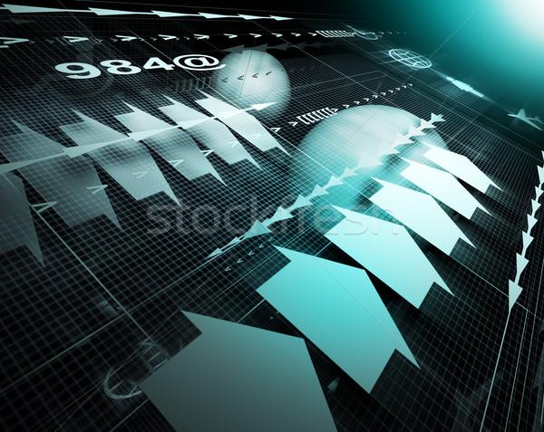 технологий интернет аннотация Стрелки Сток-фото © carloscastilla