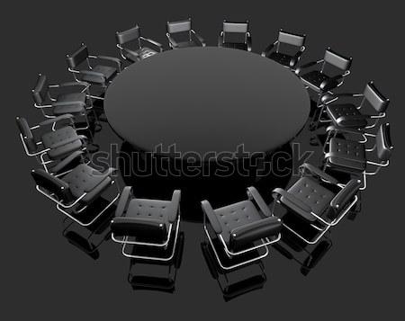 negotiating table Stock photo © carloscastilla