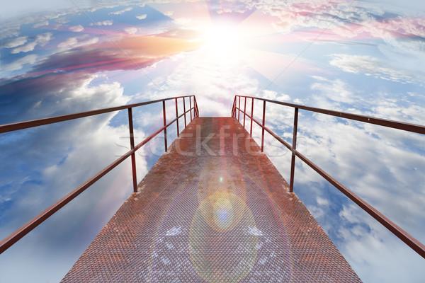 walkway to Heaven Stock photo © carloscastilla