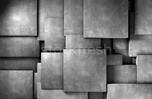 Concrete blocks Stock photo © carloscastilla