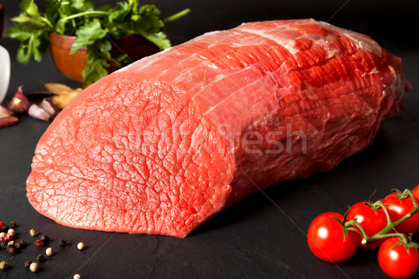 beef round Stock photo © carloscastilla