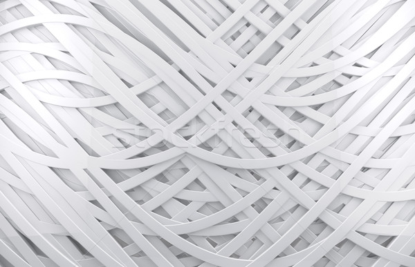 white 3d abstract background  Stock photo © carloscastilla