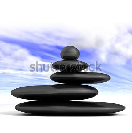 Zen concept  Stock photo © carloscastilla