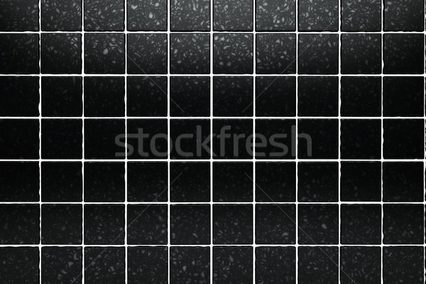 surface black tiles Stock photo © carloscastilla