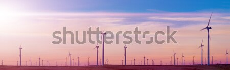 Wind Turbines landscape Stock photo © carloscastilla