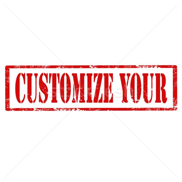 Customize Your-stamp Stock photo © carmen2011