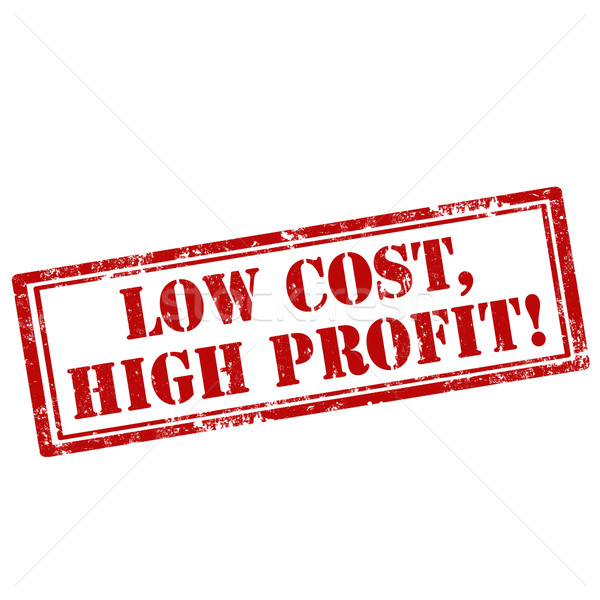 Low Cost,High Profit-stamp Stock photo © carmen2011