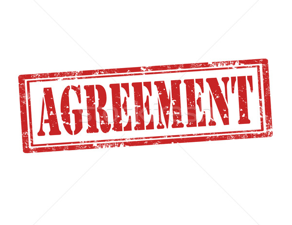 Agreement-stamp Stock photo © carmen2011