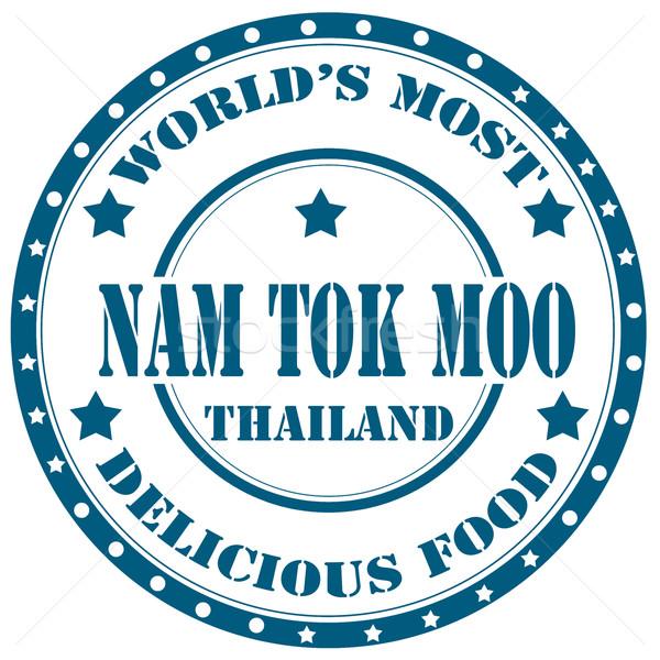 Nam Tok Moo-stamp Stock photo © carmen2011