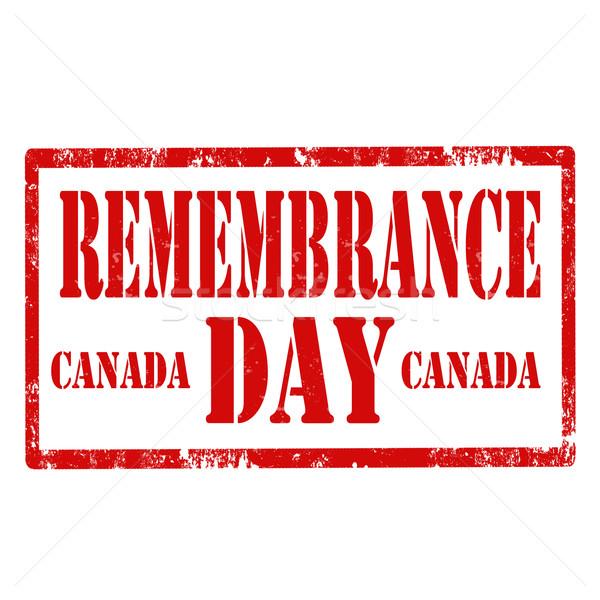Remembrance Day-Canada Stock photo © carmen2011