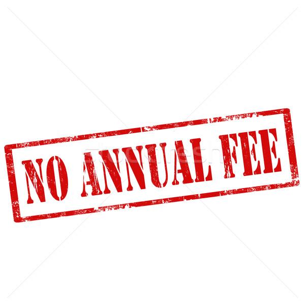No Annual Fee Stock photo © carmen2011