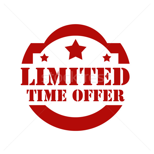 Limited Time Offer Stock photo © carmen2011