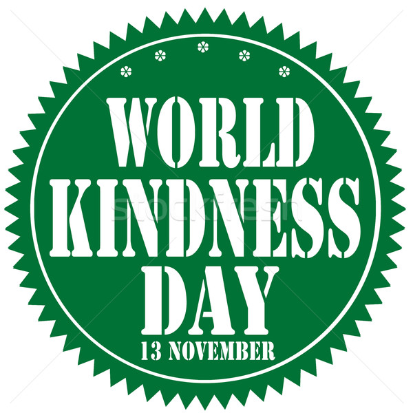 Mundo amabilidad etiqueta texto celebración Foto stock © carmen2011