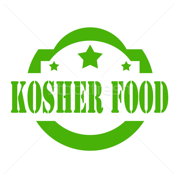 Kosher Food-stamp Stock photo © carmen2011