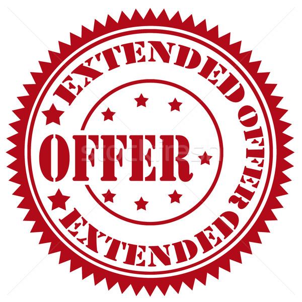 Extended Offer-stamp Stock photo © carmen2011