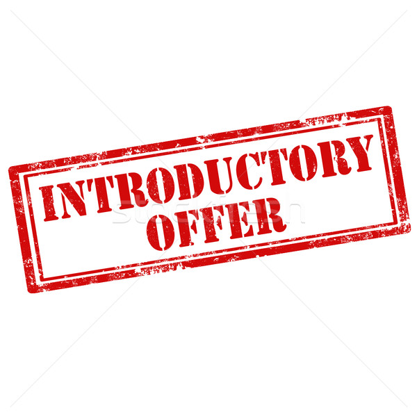 Introductory Offer Stock photo © carmen2011