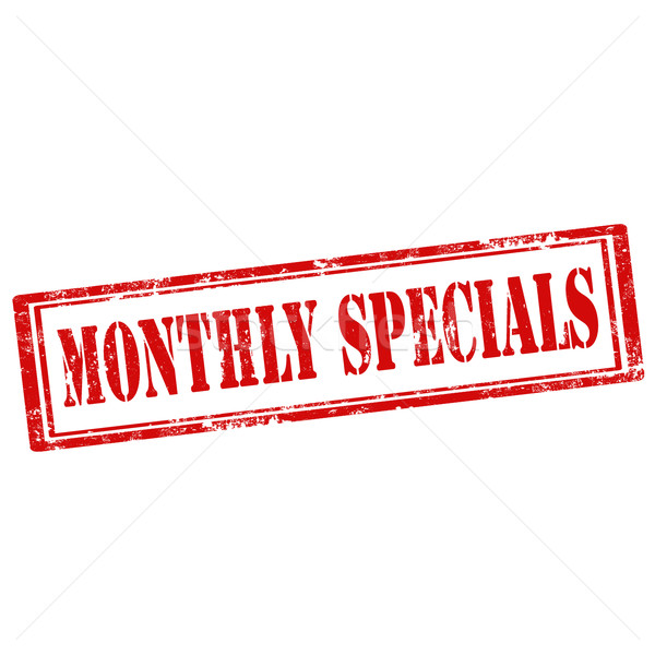 Monthly Specials-stamp Stock photo © carmen2011