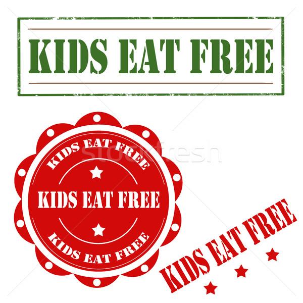 Kids Eat Free Stock photo © carmen2011