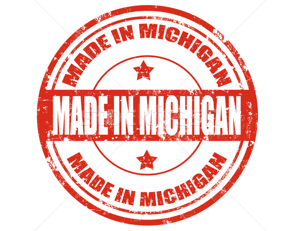 Made in Michigan Stock photo © carmen2011