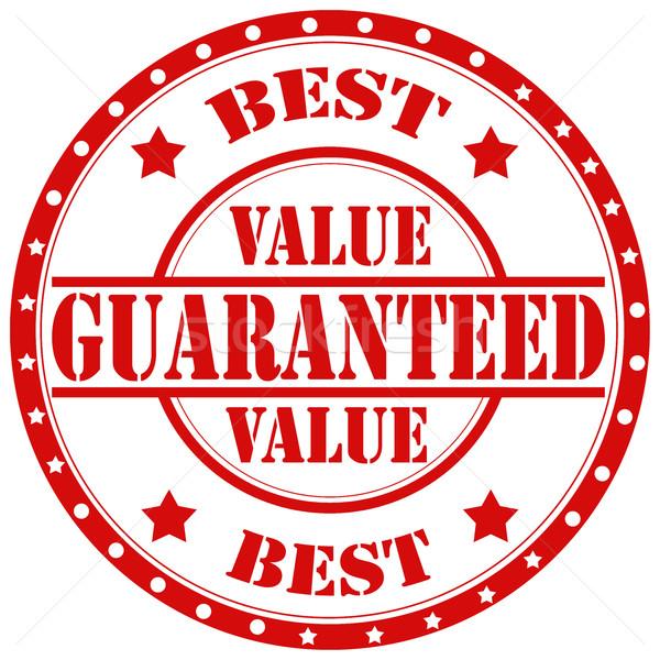 Guaranteed-stamp Stock photo © carmen2011