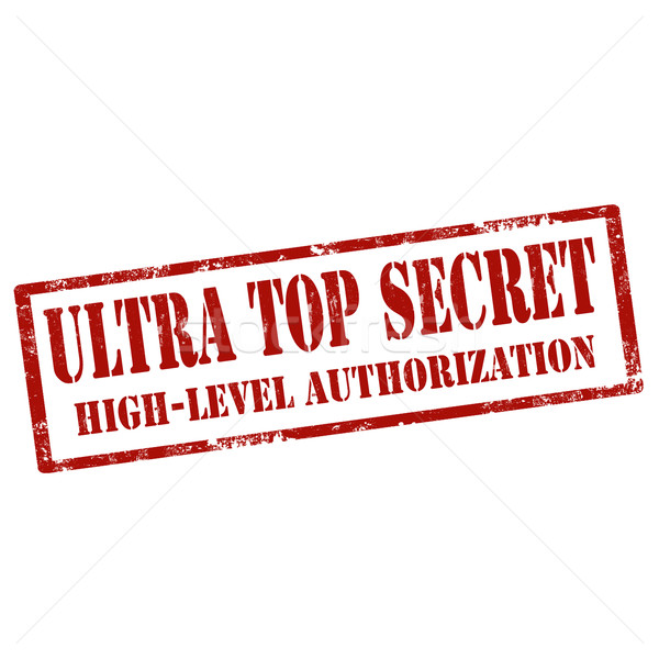 Ultra Top Secret Stock photo © carmen2011