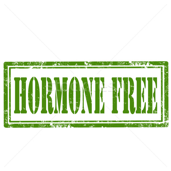 Hormone Free-stamp Stock photo © carmen2011