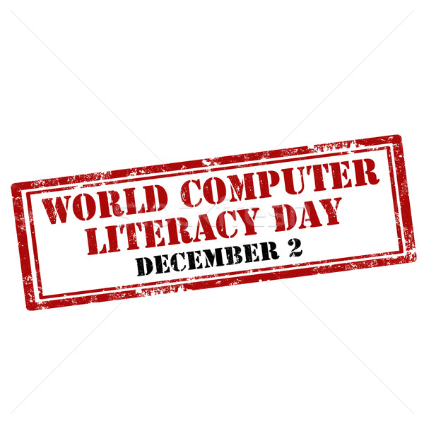World Computer Literacy Day Stock photo © carmen2011