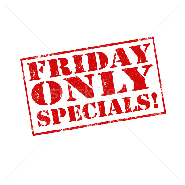 Friday Only Specials Stock photo © carmen2011