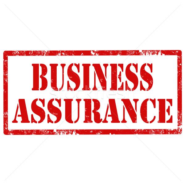 Business Assurance-stamp Stock photo © carmen2011