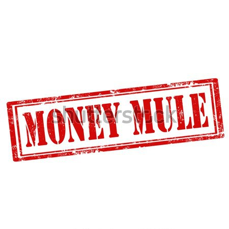 Money Mule-stamp Stock photo © carmen2011
