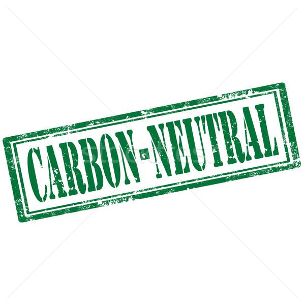 Carbon Neutral-stamp Stock photo © carmen2011