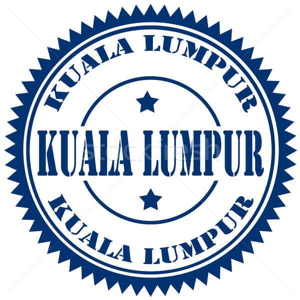 Kuala Lumpur-stamp Stock photo © carmen2011