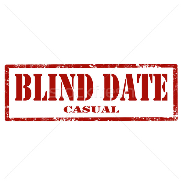 Blind Date-stamp Stock photo © carmen2011